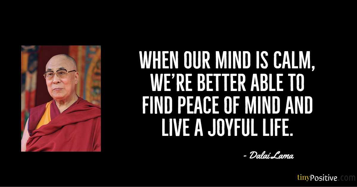 55 Inspirational Quotes on Life From the Dalai Lama