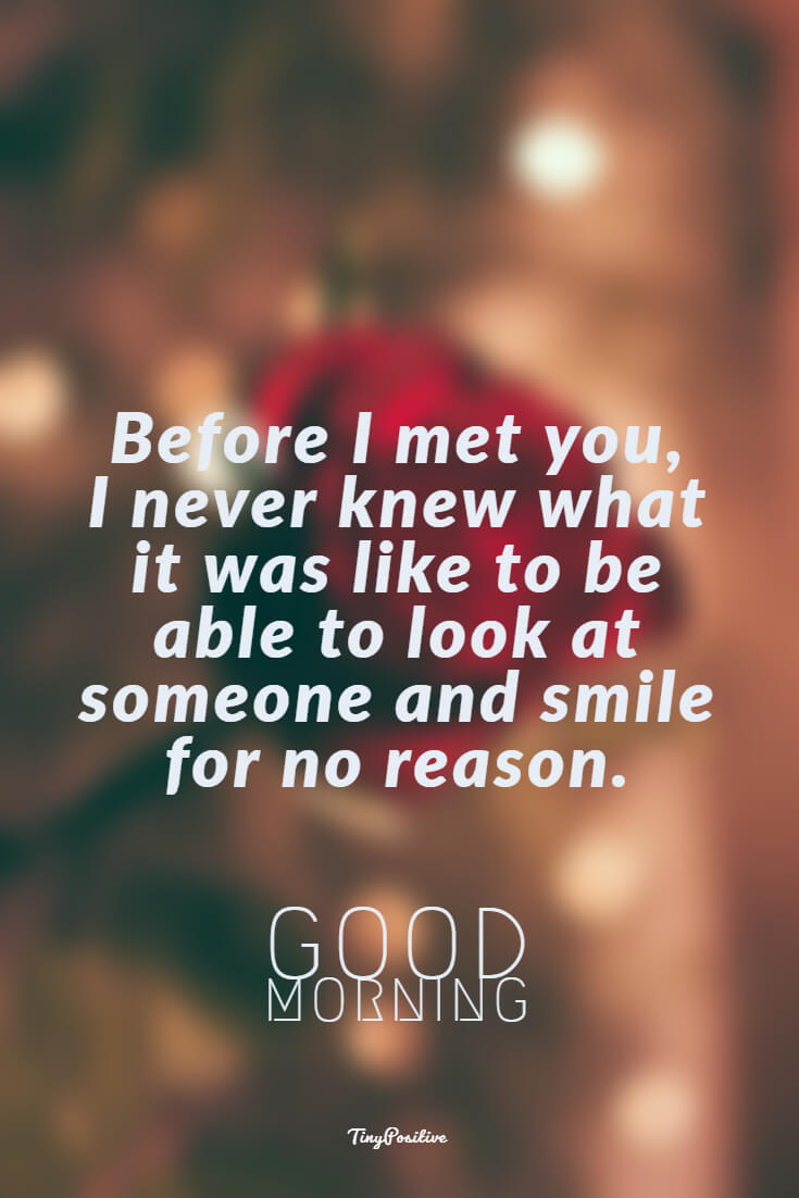 60 Really Cute Good Morning Quotes for Her Morning Love Messages 19 #smile