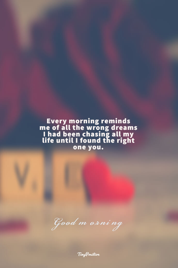 60 Really Cute Good Morning Quotes for Her Morning Love Messages 29 #dreams