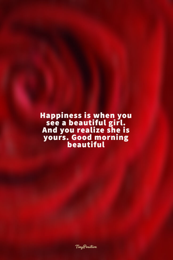 60 Really Cute Good Morning Quotes for Her Morning Love Messages 40 #happiness
