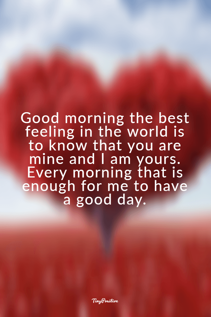 60 Really Cute Good Morning Quotes for Her & Morning Love