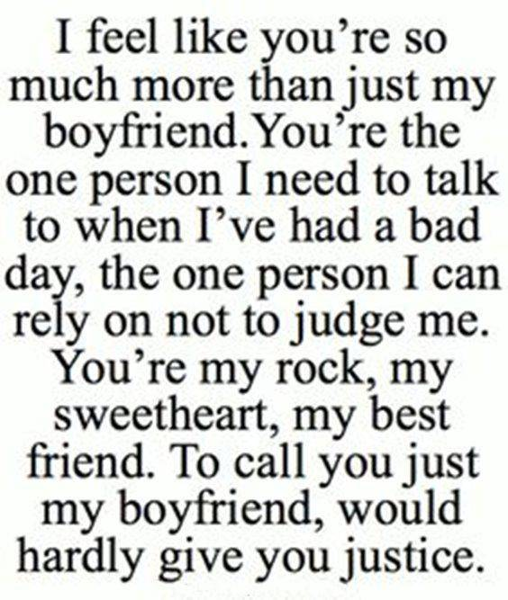 Relationship Quotes about boyfriend and best friends