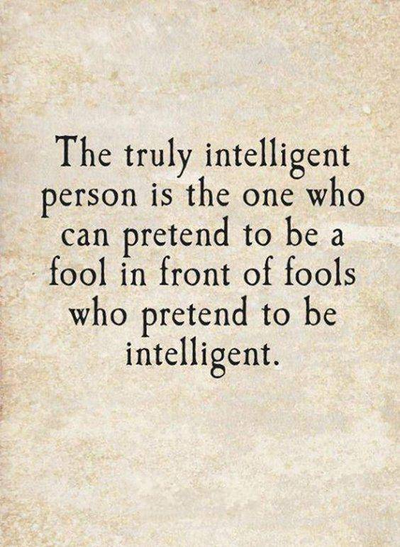 Relationship Quotes on intelligent person