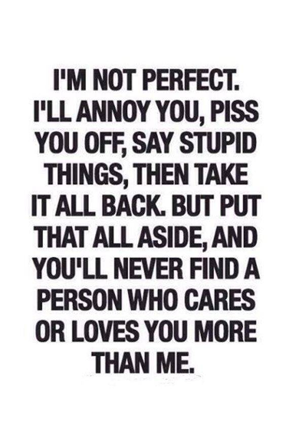 Relationship Quotes about perfect person cares