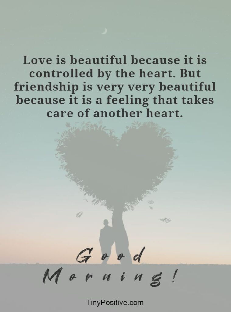 good morning love quotes for friends