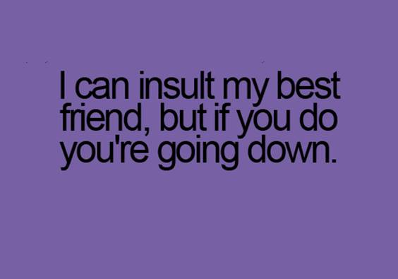 bad friends quotes funny comments on friendship