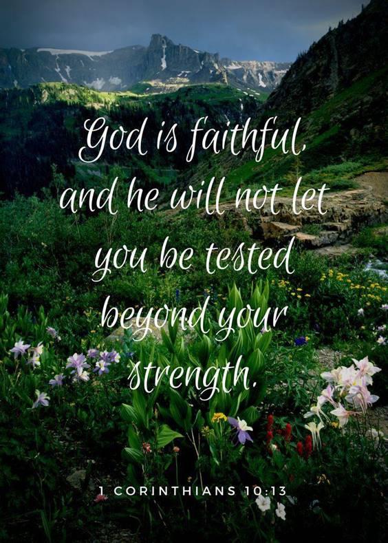 60 Meaningful strength short inspirational bible verses 8