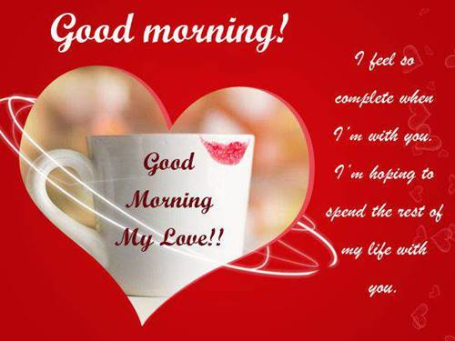 50 Best Love Good Morning Quotes Messages Morning Wishes 19