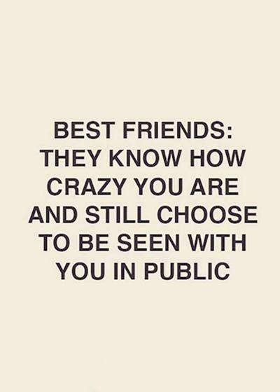 52 Crazy Funny funny friendship quotes and sayings instagram captions for old friends