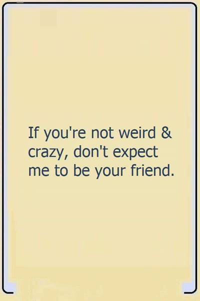 52 Crazy Funny hilarious friends short friendship quotes for instagram