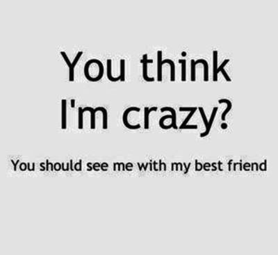 52 Crazy Funny crazy funny best friend quotes funny sayings about friends