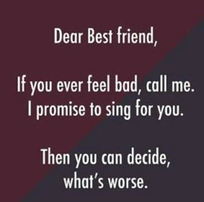 52 Crazy Funny Friendship Quotes for Best Friends 4