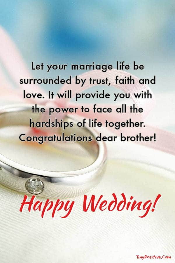 wedding-wishes-for-brother | Wishes for brother, Wedding best wishes, Best wishes for brother