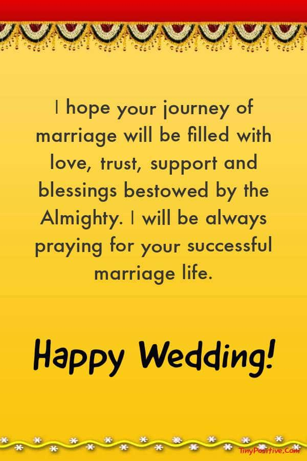 Wedding Wishes for Brother - Cards Wishes