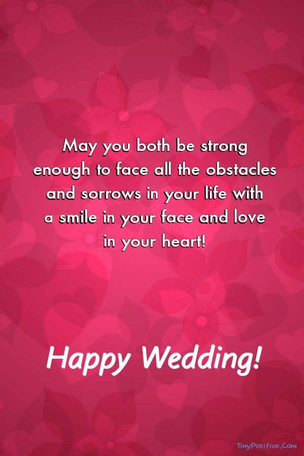 Wedding Card Messages from Parents