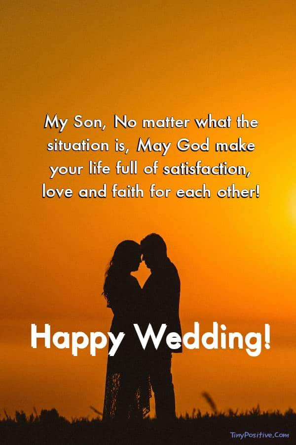 Messages From Mother To Son On His Wedding Day