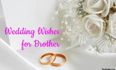 wedding wishes for brother messages quotes
