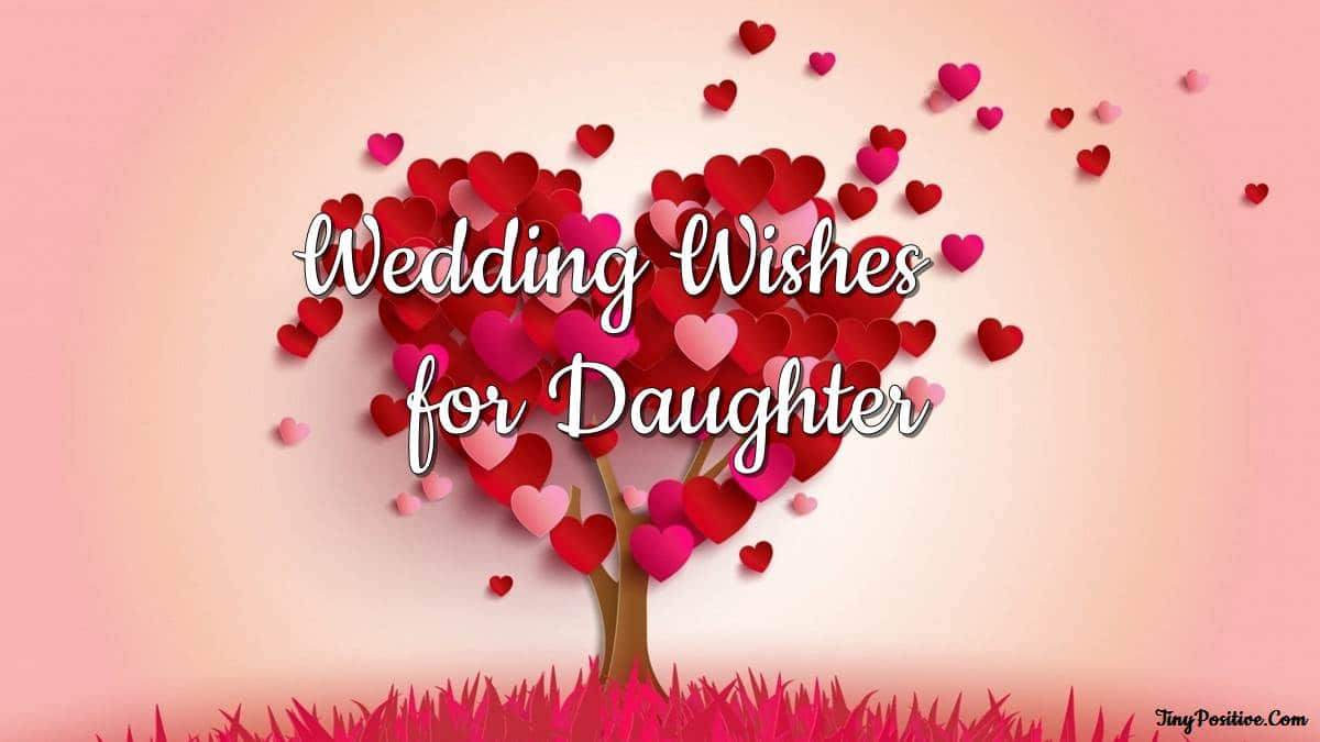wedding wishes for daughter messages quotes