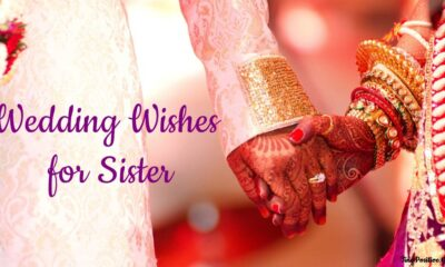 wedding wishes for sister messages quotes