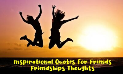 Inspirational Quotes for Friends Friendships Thoughts 1