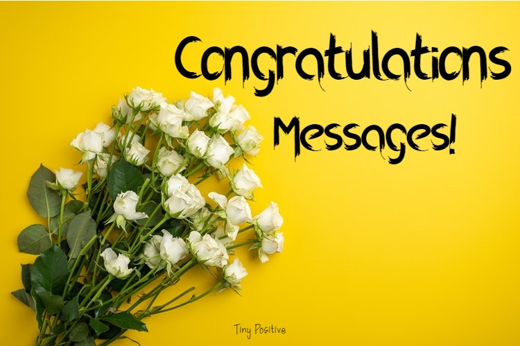 Congratulations Messages Wishes and Quotes What to Write in a Congratulations Card