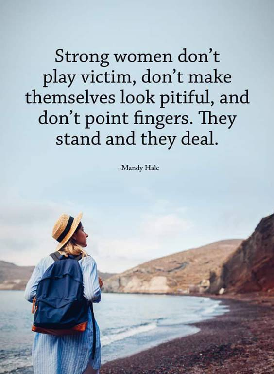 behind every strong woman quotes