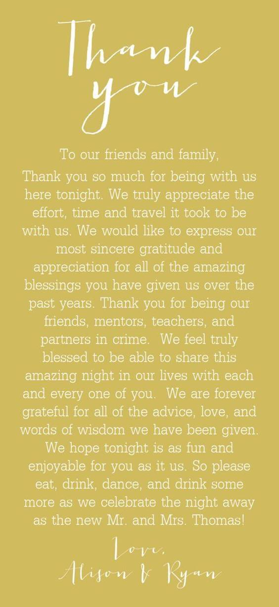 Well Wishers Message