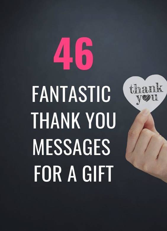 Thank You Message