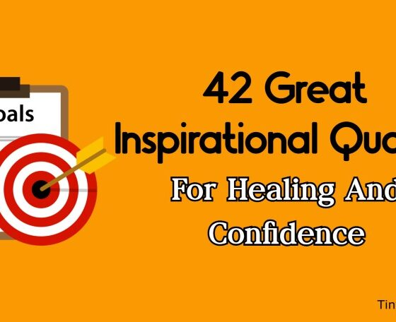Great Inspirational Quotes For Healing And Confidence