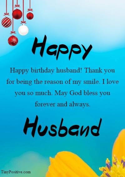 Happy Birthday Husband Image