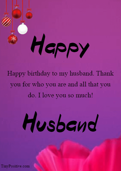 Long Distance Husband Birthday Wishes