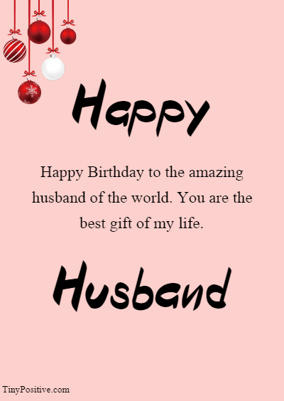 Cute Advance Birthday Wishes for Husband from Wife