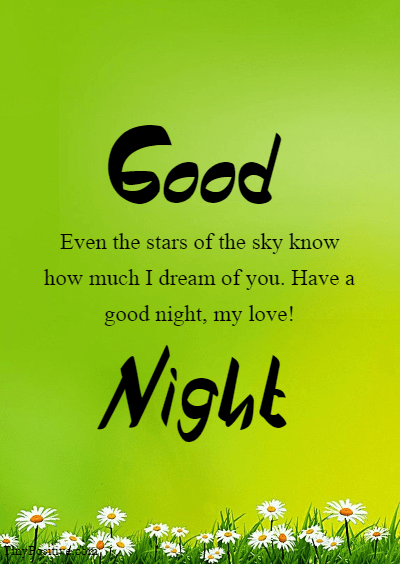 I Love You Good Night - Good Night Love Messages Wishes and Quotes