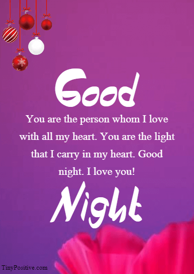 Romantic Good Night Wishes - Good Night Love Messages Wishes and Quotes 7