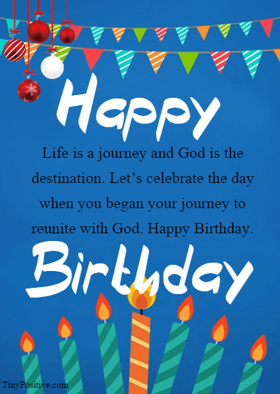 Birthday Prayer Wishes - Inspirational Religious Birthday Wishes Quotes and Messages