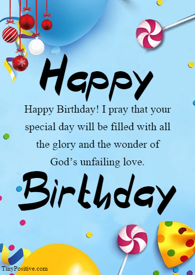 happy blessed birthday - Inspirational Religious Birthday Wishes Quotes and Messages