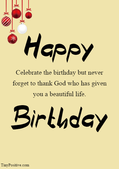 Religious Birthday Wishes For Your Friends and Family