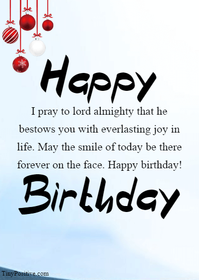 Blessed Birthday Wishes - Inspirational Religious Birthday Wishes Quotes and Messages