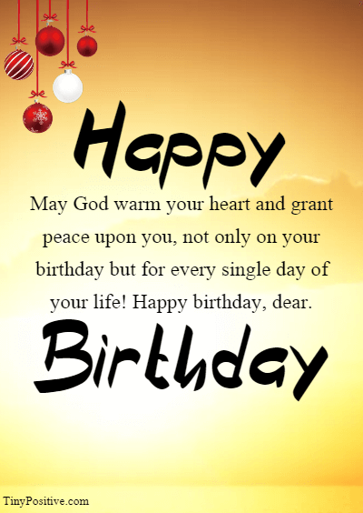 Religious Birthday Wishes for Her - Inspirational Religious Birthday Wishes Quotes and Messages