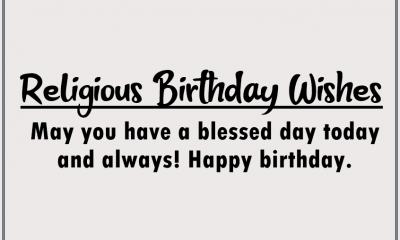 Inspirational Religious Birthday Wishes