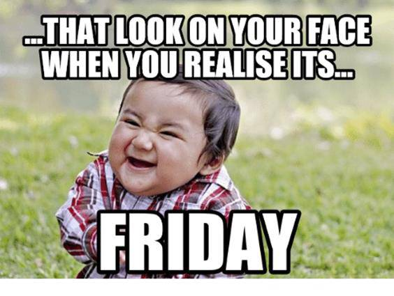 images of happy friday