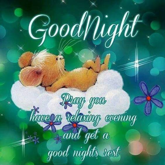 good night message for teacher