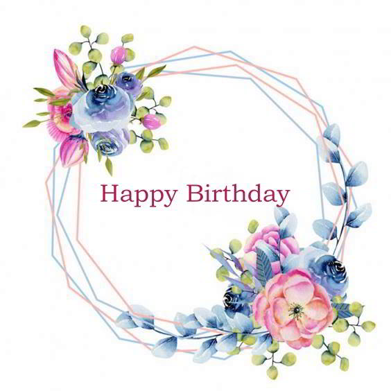 happy birthday bouquet images
