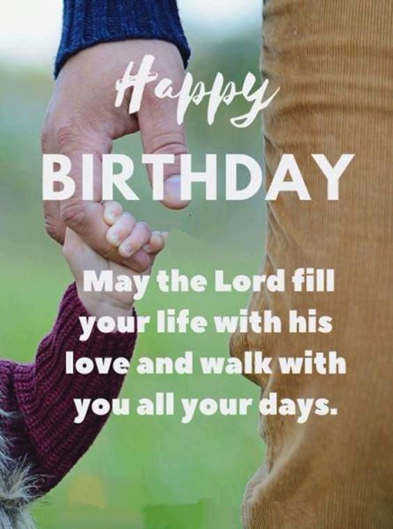 happy birthday god bless