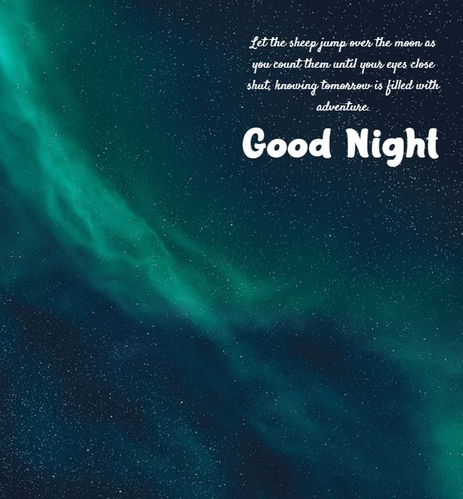 inspirational good night messages for him and her