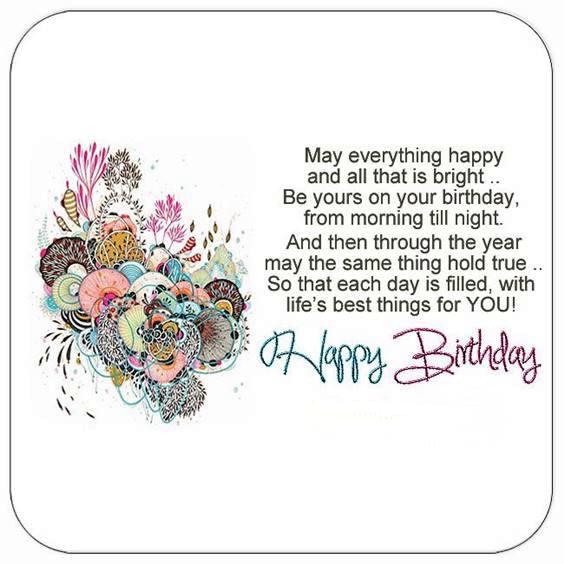 one line birthday wishes