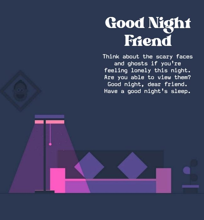good night message quotes for friends