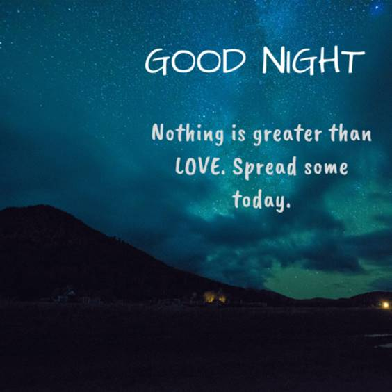 good night quotes to him