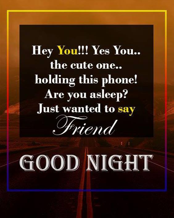 good night quotes with friends